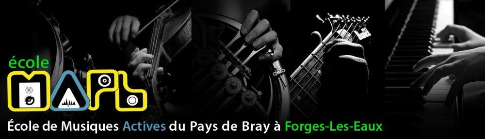 École de Musiques Actives du Pays de Bray – Forges-Les-Eaux.